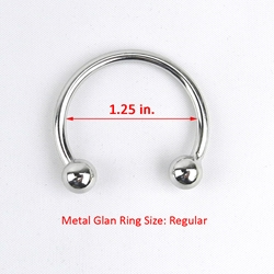 MyXToy®  Steel Glans Ring