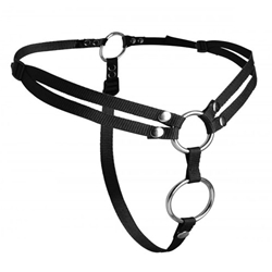 StrapU Unity Double Penetration Strap On Harness