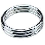 MyXToy® Triple-Stacked Steel Cock Ring