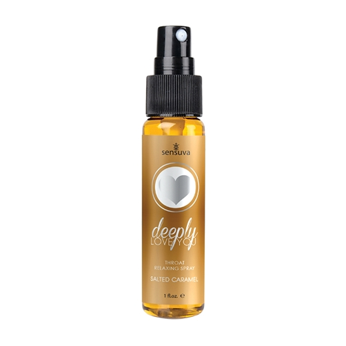 Deeply Love You Salted Caramel Throat Relaxing Spray 1oz Bottle